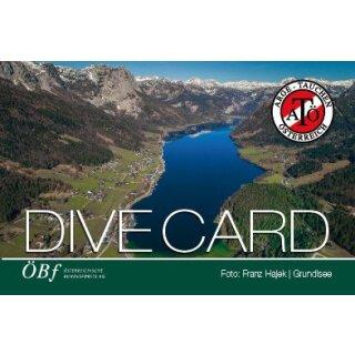 Dive Card Österreich