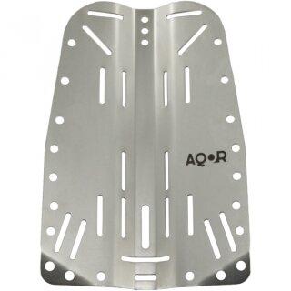 AQOR 3mm Backplate Edelstahl