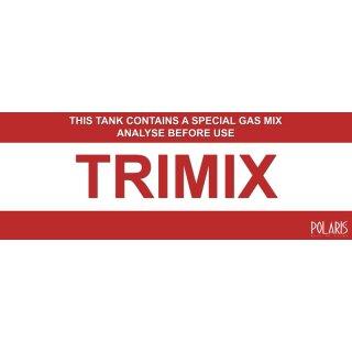 Trimix Aufkleber— 29 x 10 cm