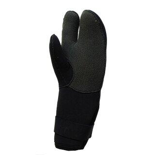 7 mm - 3-Fingerhandschuhe, lang mit Kevlar, Gr 2XL