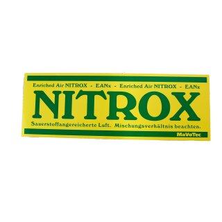Nitroxaufkleber 29 x 10 cm