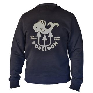 Poseidon Sweatshirt Navy