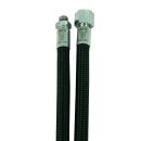 MIFLEX Xtreme braided BLACK Regulator hoses black