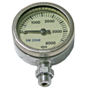 DIRZONE SPG 52mm 3300psi chrome