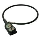 Console Tiefenmesser +Depthmeter black 2x 52mm