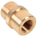 Adapter DIN G5/8 - W30x2 Brass G5/8 to W30x2