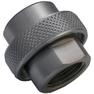 Adapter DIN G5/8 - Argon chrome G5/8 to W21.8