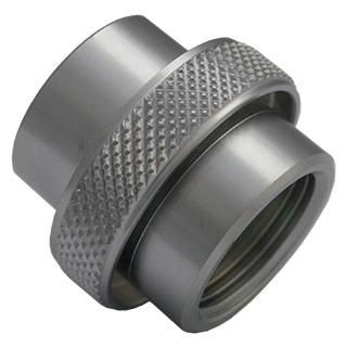 Adapter DIN G5/8 - O2 230bar chrome G5/8 to 3/4