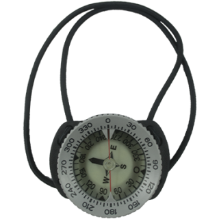 Compass TEC GREY Ring with Bungeemount 30 degree - Assembled grey