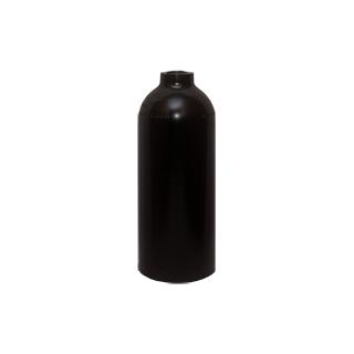 AluTank complete w/ TUEV black LUXFER 1.5l, mono valve, 111mm